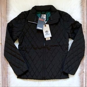 Timberland Piper Mountain Black Quilted Jacket